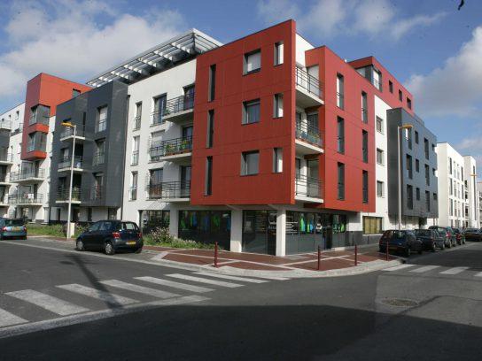 Projet Descartes à Calais - immeuble - Marcotte Promotion