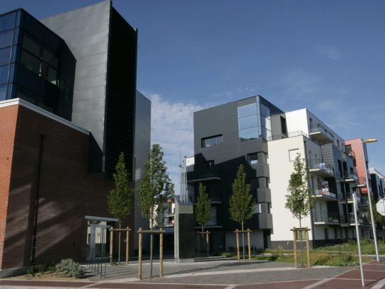 Quartier Descartes - construction -Marcotte Promotion