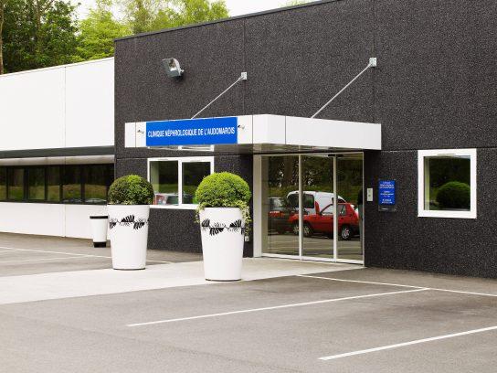 Vue extérieure Clinique Helfaut Saint Omer